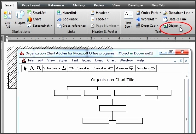 6 Word Organizational Chart Sampletemplatess Sampletemplatess