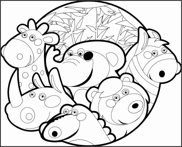 14 zoo coloring pages zoo animals printable pictures