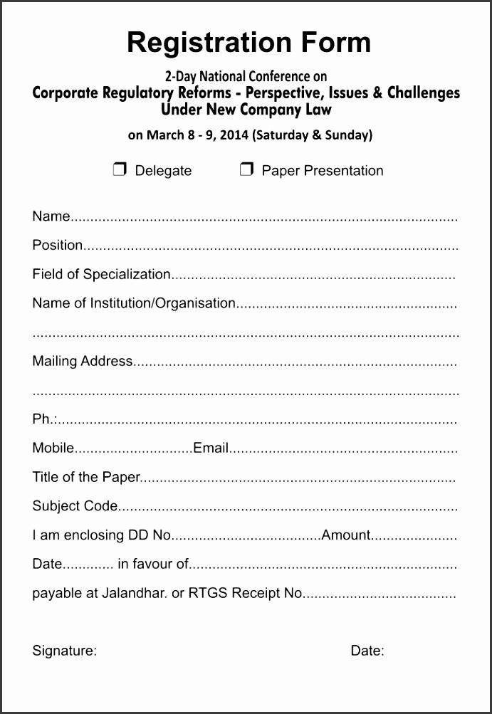 basketball registration form template word 5k Registration Form Template Eliolera