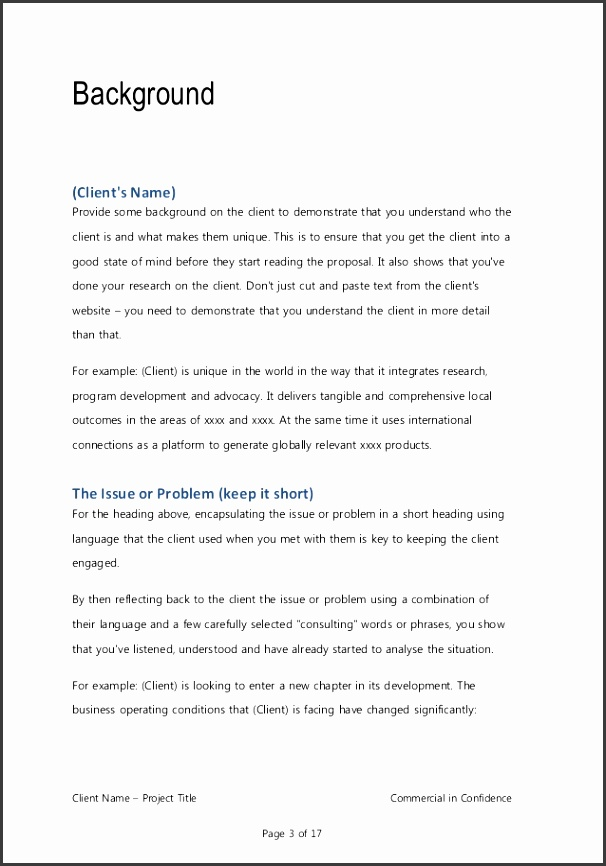 business proposal template for consulting program implementation 2 638