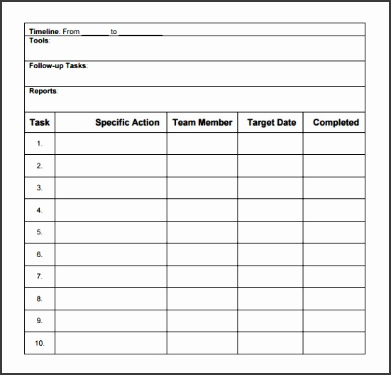 What s More Picture showed above is Free Team Action Plan Template
