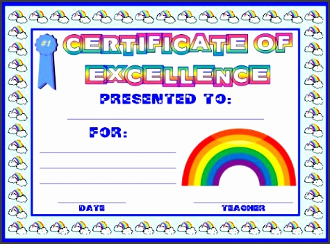 Blank Award Certificates Business Certificate Elegant Award Certificate Template Intended For Printable Award Certificates Printable Award Certificates
