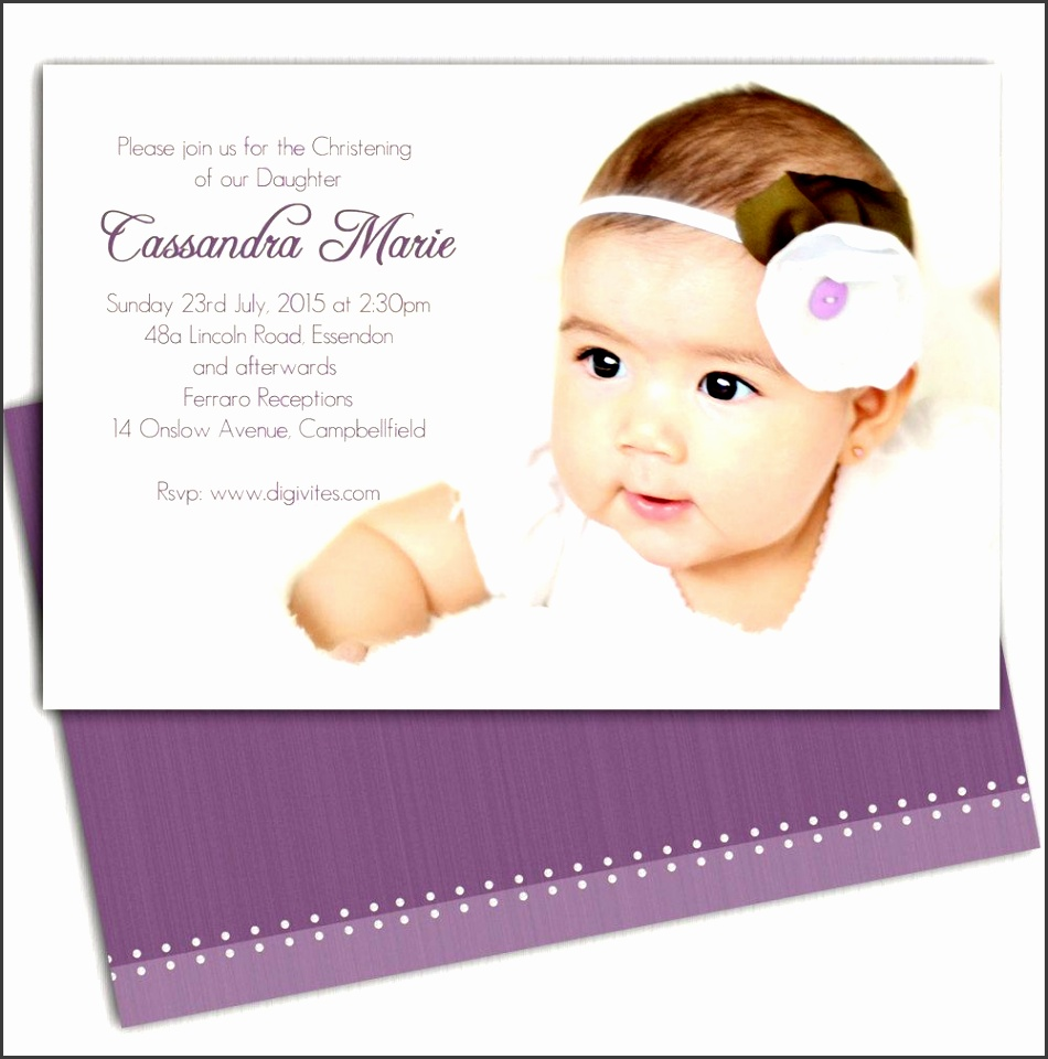 baptism invitation cards templates free