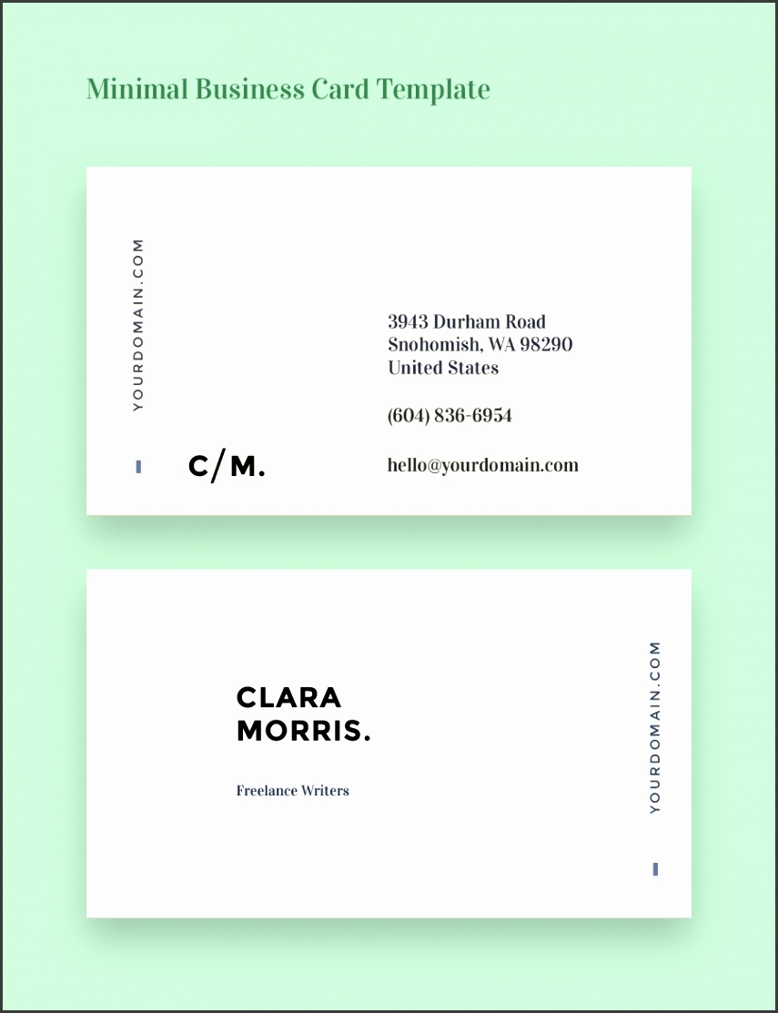 Full Size of Colors simple Business Card Template Business Card Template Back And Front As