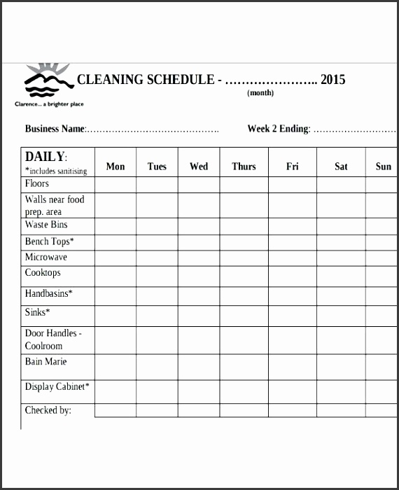 Bathroom Cleaning Checklist Template Free Bathroom Cleaning