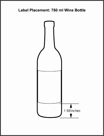 this one is a little less tricky than bottle labels Your client should have manufacturer specs that include live and safe areas for design