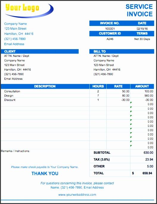 best invoice