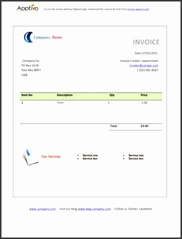 Simple Billing Invoice Template