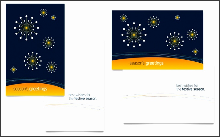 Free Greeting Card Template Word & Publisher
