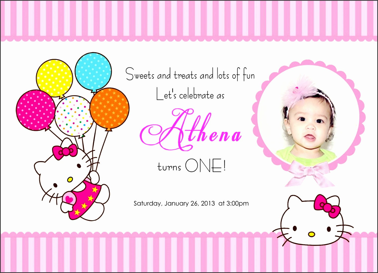 Download Now FREE Template Kids Birthday Party Invitation Wording