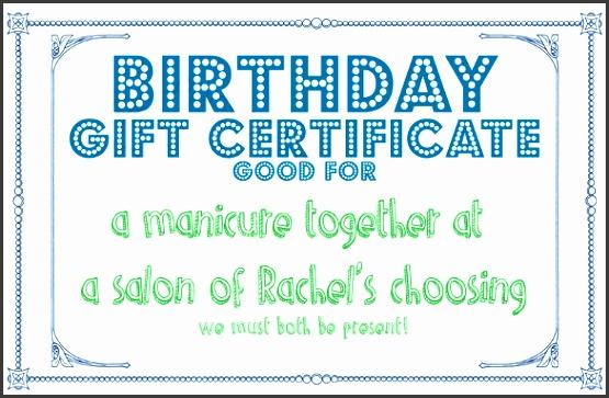 birthday present template 10 sample birthday t certificate templates sample example