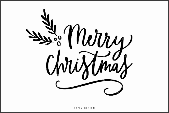Black And White Christmas Templates For Word