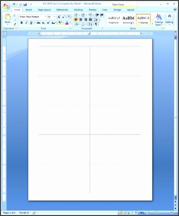 Microsoft Word Business Card Template: 5 Blank Business Card Template Word
