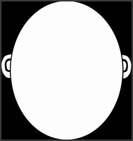 Blank Face Clip Art