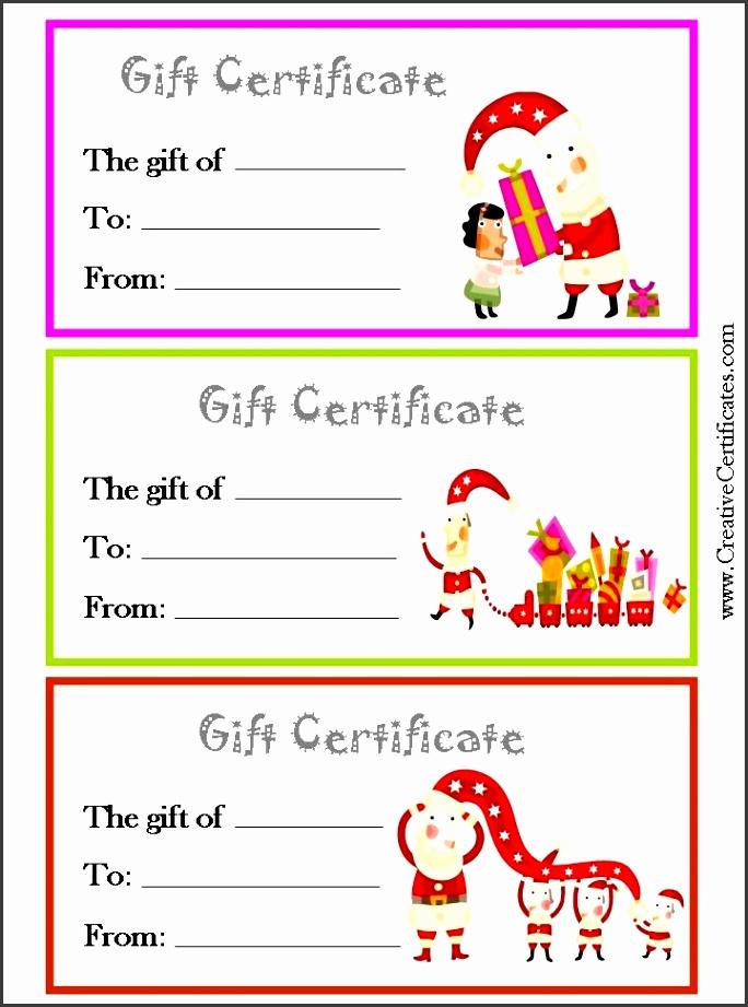 8 Blank Gift Vouchers Templates Free - SampleTemplatess ...