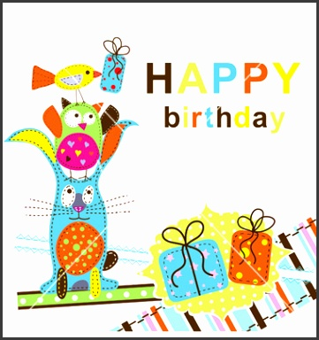 Downloadable Birthday Cards Blank Greeting Card Template Free Vector Download Free Templates