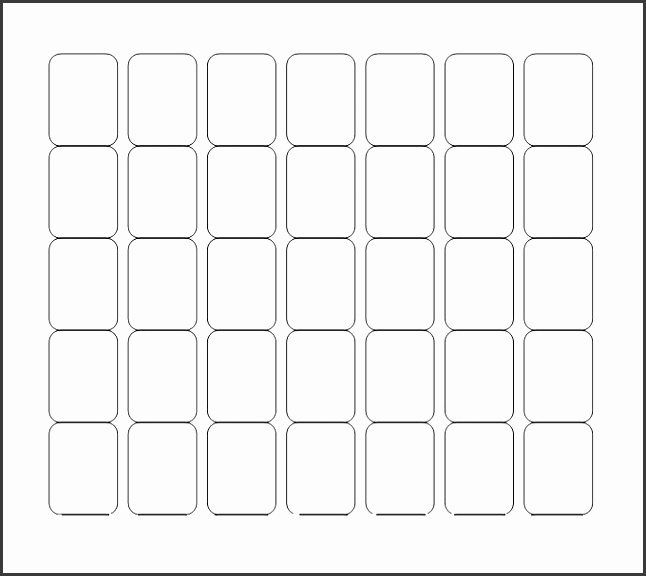 Blank Labels Template