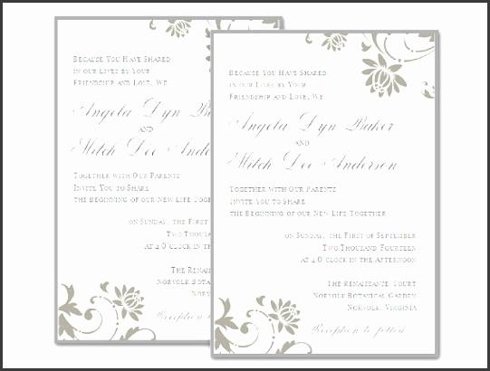 best ideas of wedding invitation template word free enom warb best wedding invitation templates pdf of wedding invitation templates pdf