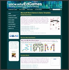 Microsoft Word Games Board Game Templates by Dr Jeff…
