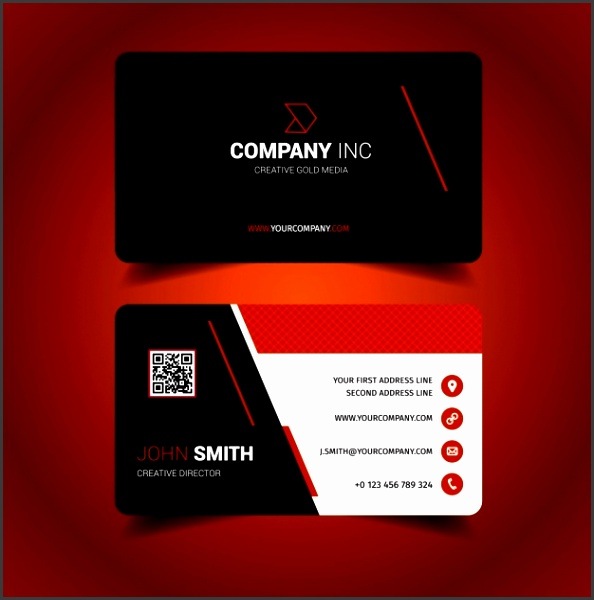 Full Size of Colors business Card Design Template Psd Free Download With Business Cards Samples
