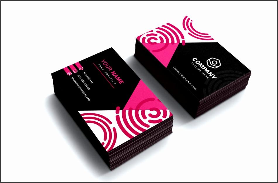 free modern business card freepik featured