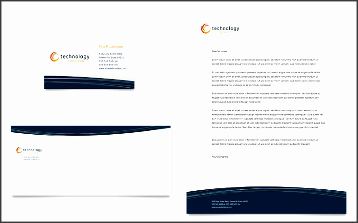 Free Business Card Template Word & Publisher