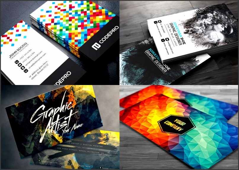 Creative Business Card PSD Templates pared