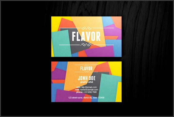 5 Business Cards Templates Psd Free Download ...