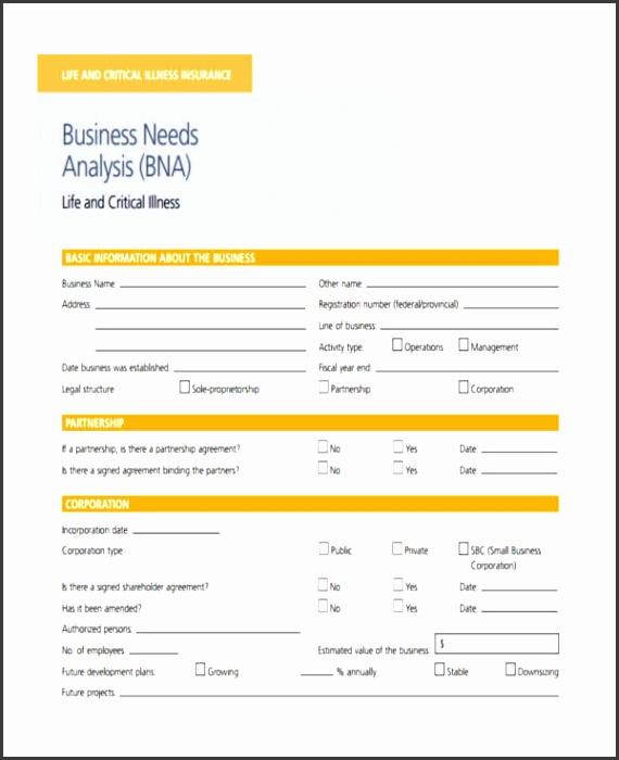 business insurance needs analysis