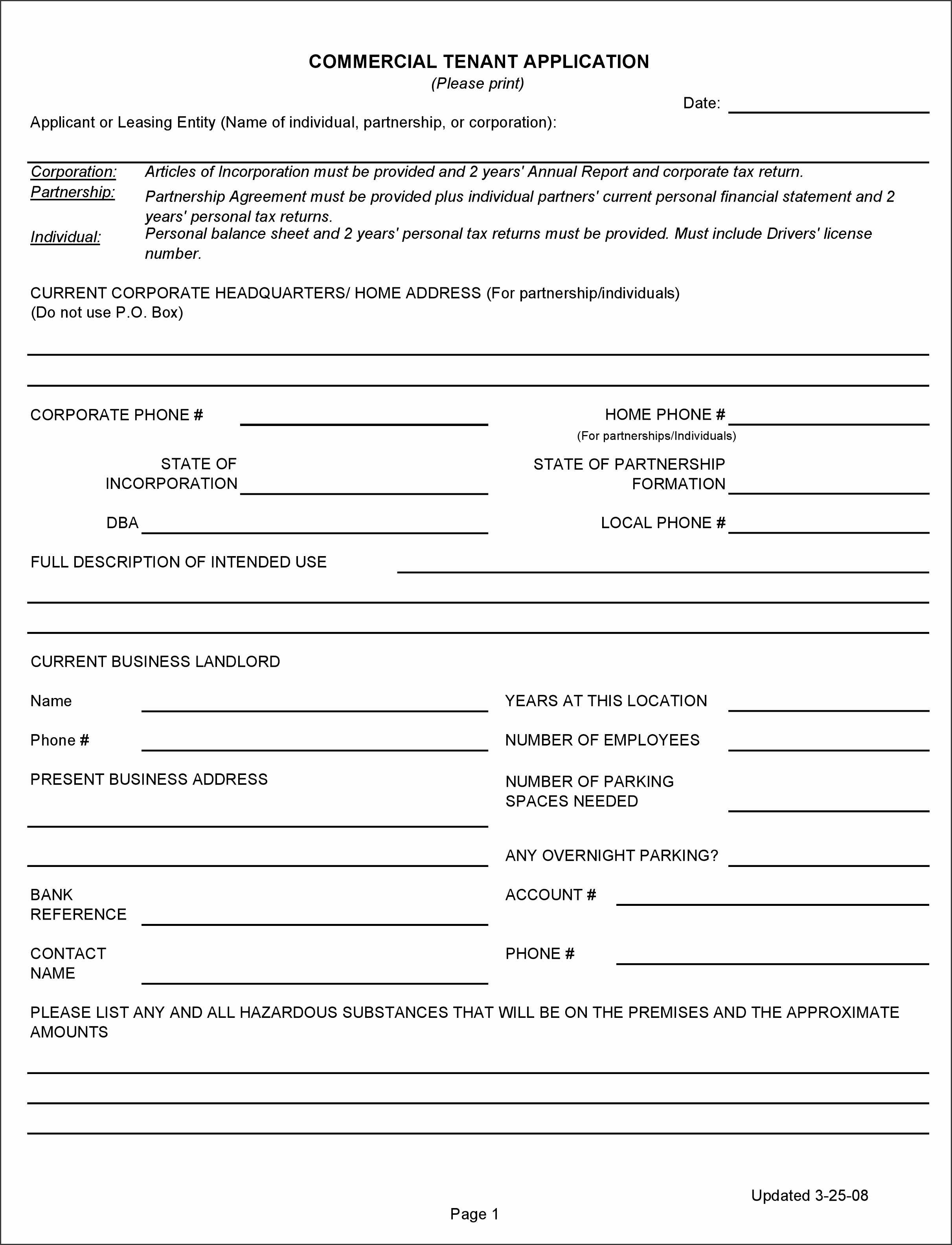 Free Real Estate Forms Pdf Template