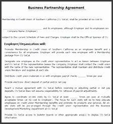 Business Partnership Agreement partnership Agreement Templates Pinterest