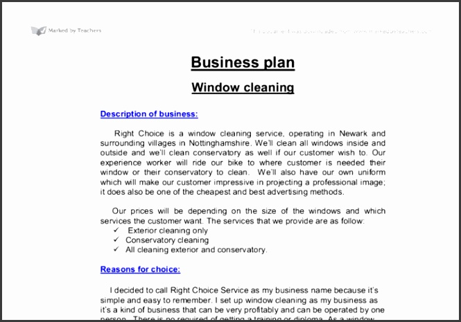 Carpet Cleaning Business Plan Template Uk