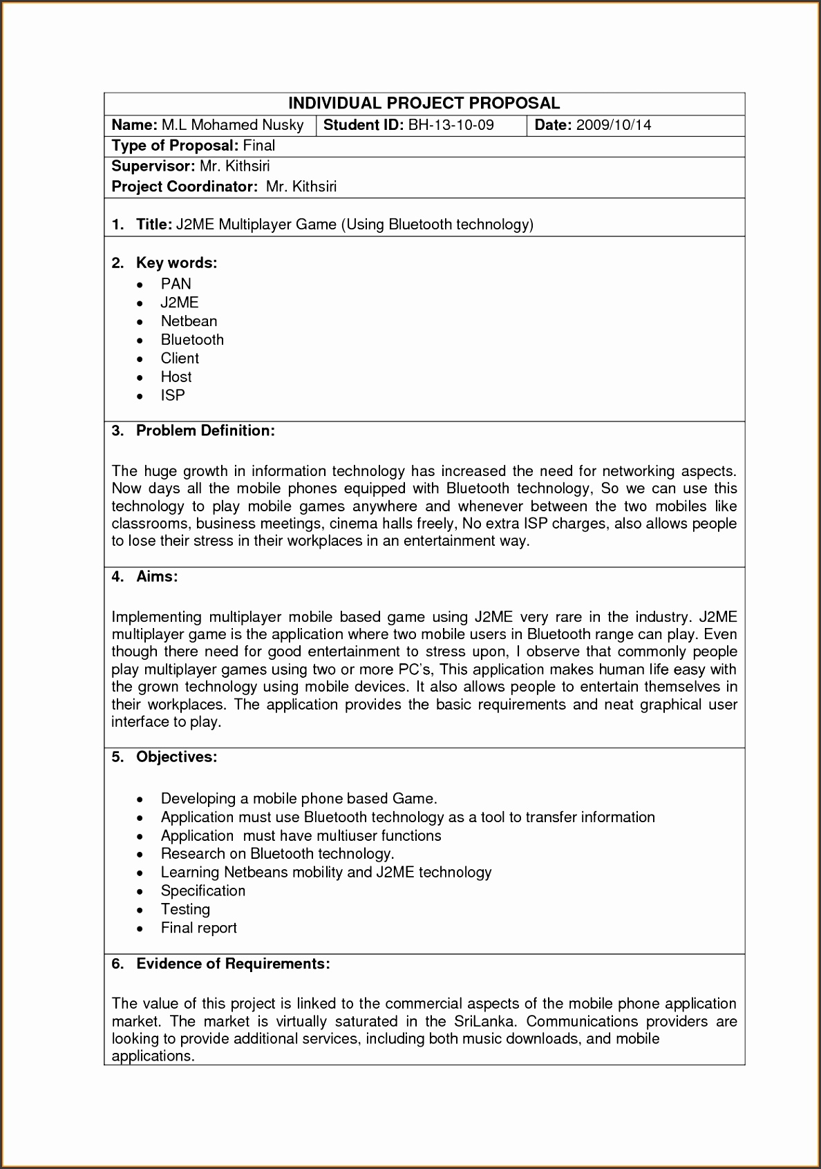 information technology business proposal samplemple project proposal template