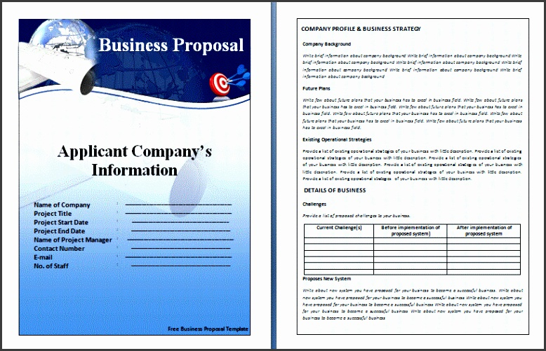 A business proposal template is a written document that s designed to persuade an organization to