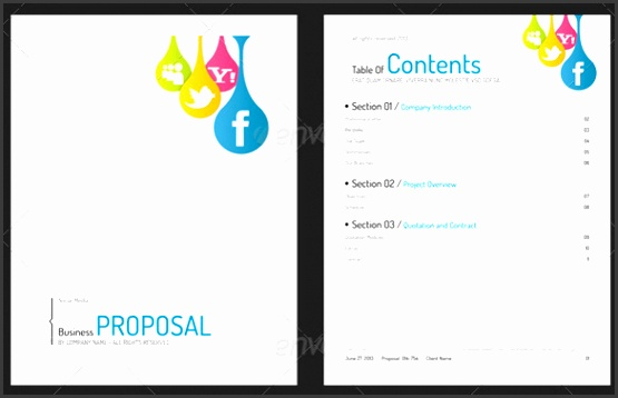 Full Generic Business Proposal Word Template