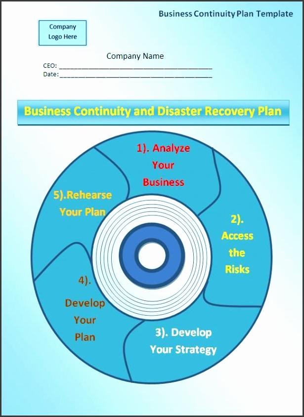 Business Continuity Plan Template wordstemplates Pinterest