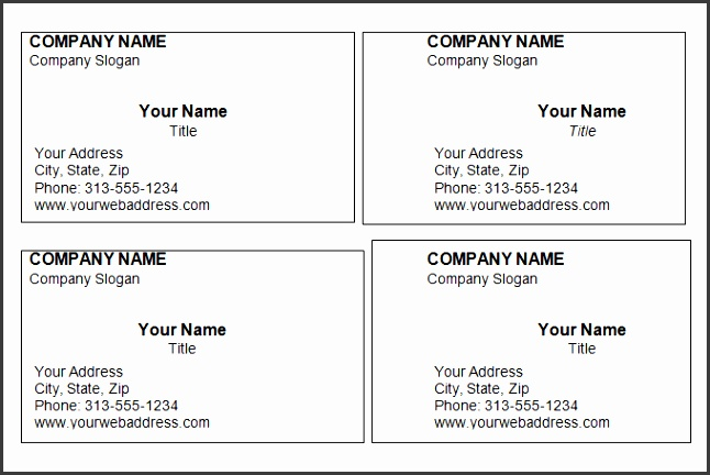 Free Templates For Business Cards Printable Free Business Cards Templates For Word Blank Business Card Download