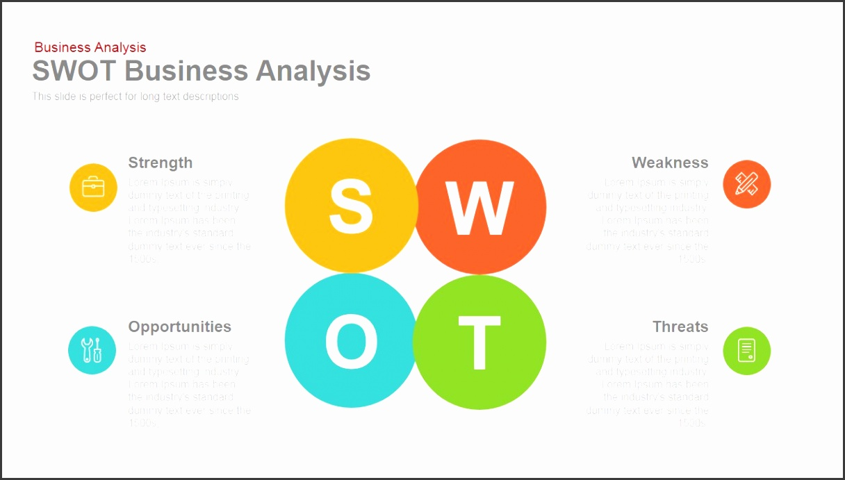 SWOT Business Analysis Powerpoint and Keynote template