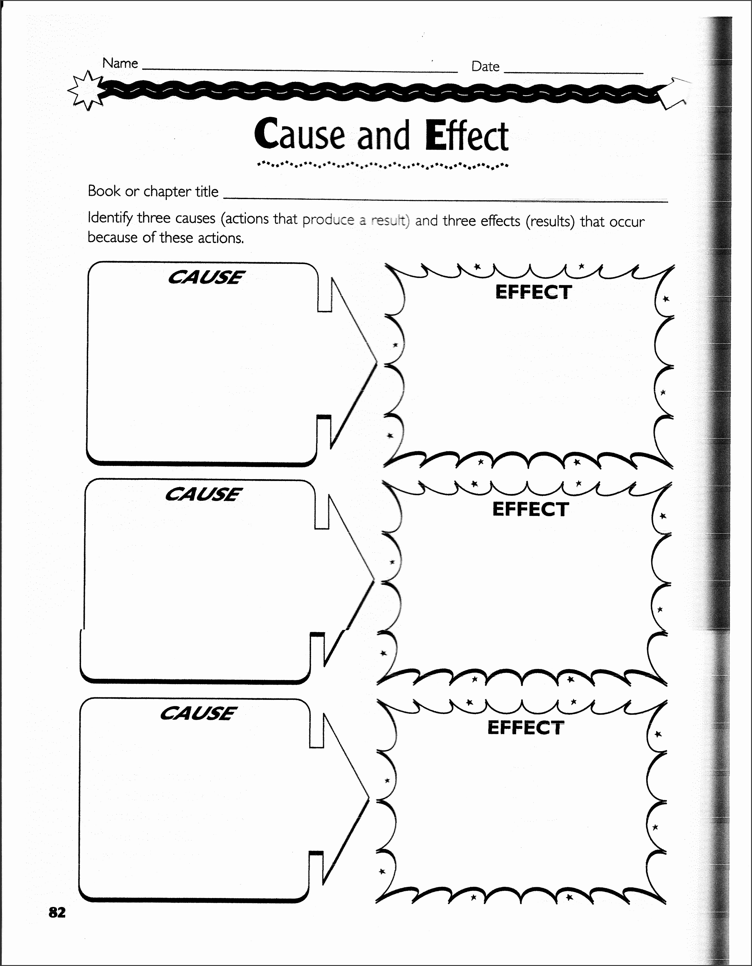 cause and effect charts