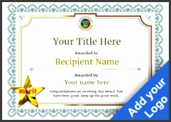 Free Certificate Templates and Awards