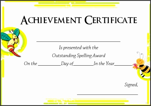 Winner certificate primary print templates 21 printable spelling bee certificates participation
