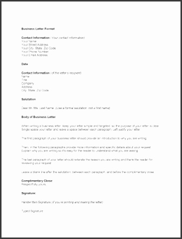 general business letter template business change of address letter template pdf format