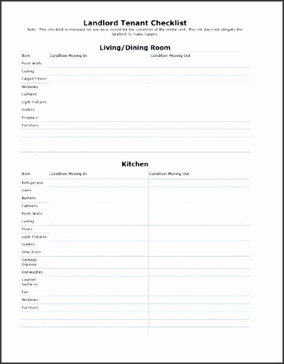 checklist word facility maintenance checklist template