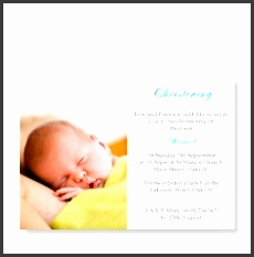 Boy Christening Invitation