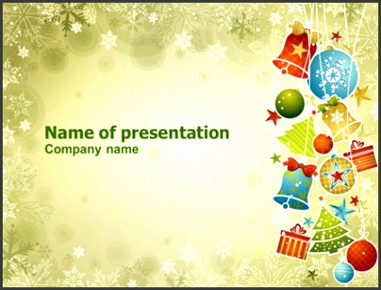 Christmas themed Powerpoint Templates