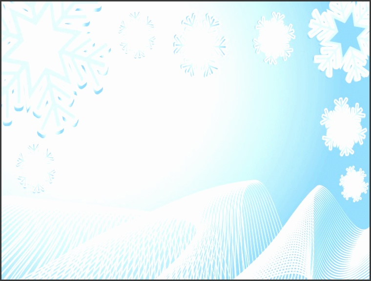 White Abstract Xmas Winter Powerpoint Themes