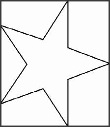 Free Stencils Collection Miscellaneous Free Stencil Star