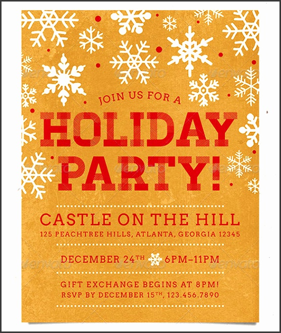 Free Christmas Flyer Templates Word 20 Holiday Party Flyer Templates Psd Designs Free Premium Templates