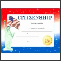 Citizenship Certificates 8 1 2 x 11