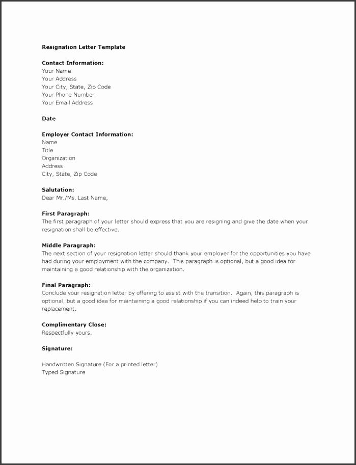 Best Resignation Letter Ideas Letter For